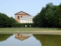 kurfürstliches Palais und römische Palastaula in Trier