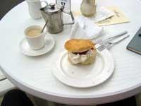 Large Jam & Cream Scone